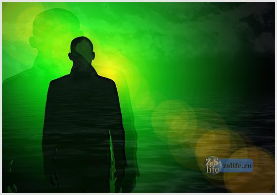Человек и тень