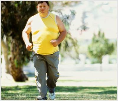 Бег и ожирение